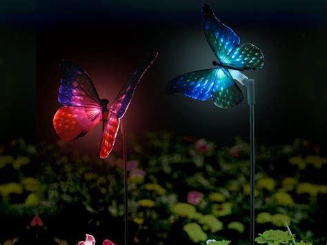 win butterfly solar garden lights