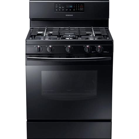 gas cooktop stove samsung 30 in 5 8 cu ft gas range with self cleaning