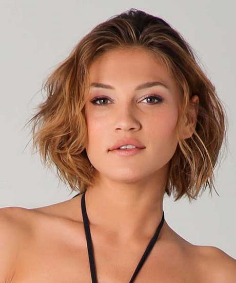 short hairstyles   faces  thick hair