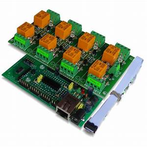 Internet  Ethernet Eight Channel Relay Board  Web Tcp  Ip Telnet E