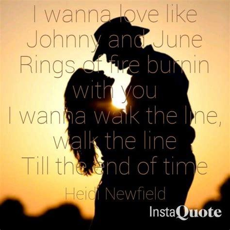 johnny  june heidi newfield quote country lyrics sunset