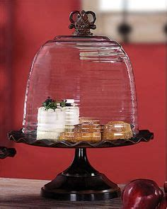 cake stands cloches images   crystals