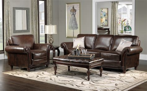 brown leather furniture costco  store  ethan allen