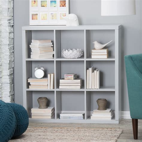 Cube Bookcase by Hudson 9 Cube Bookcase Bookcases At Hayneedle