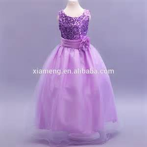 wedding dresses for kids new frock flower girl dress beautiful purple collar