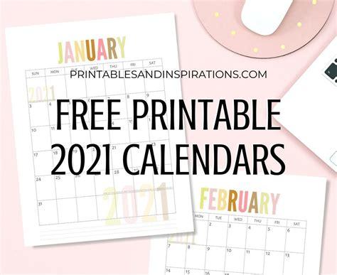 calendar pastel cute freebies