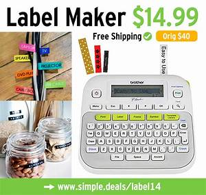 brother p touch label maker 1499 orig 40 free With free shipping label maker
