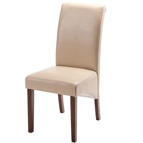 henley ivory leather dining chair 15445 furniture in