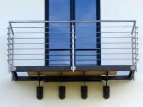 franzoesischer balkon geländer edelstahlgeländer handlauf balkon edelstahl gelaendersysteme weber französische balkone
