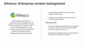 aws june 2016 webinar series amazon aurora deep dive With alfresco document management pricing