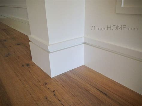 modern baseboards toes       house