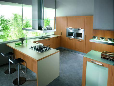 cuisine bois contemporaine cuisine en bois naturel 10 photo de cuisine moderne