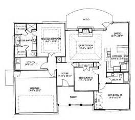 3-Bedroom Bungalow Floor Plan