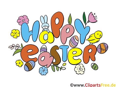 happy easter clip art ecard image picture