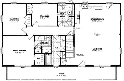 Mountaineer Certified Home Floor Plans