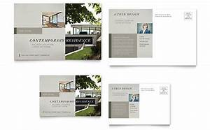 real estate postcard templates word publisher With microsoft office postcard templates