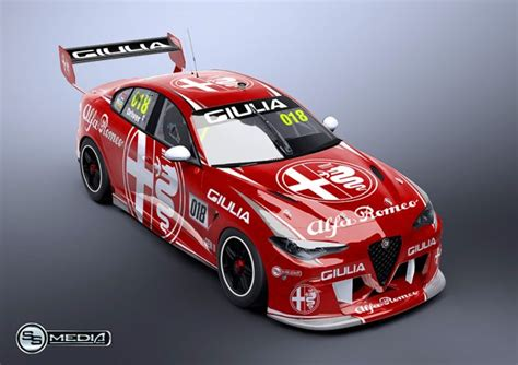 Gen2 Supercars concepts: Alfa Romeo Giulia - Speedcafe