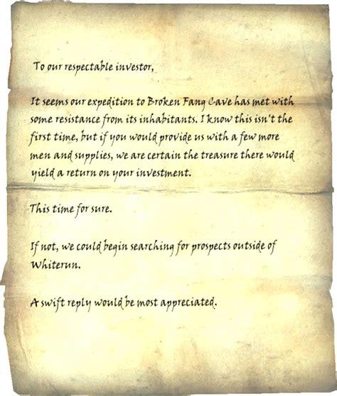 daedric sword collectors edition letter opener the elder courier s letter elder scrolls fandom powered by wikia 12072