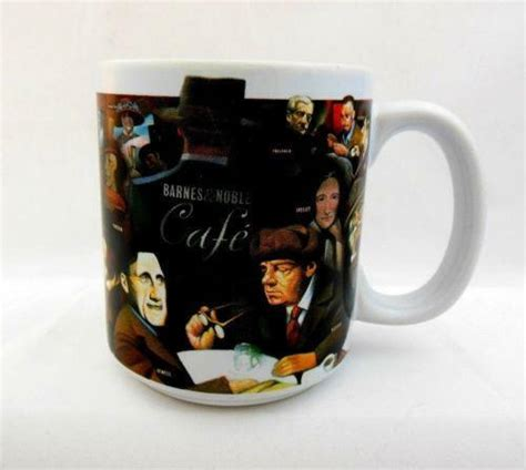 A store that sells over priced books, and gives its self all the credit for wide spread reading in america in any corporate bookstore that contains a starbucks coffee shop. Barnes and Noble Mug | eBay
