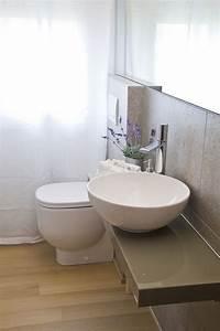 Waschtisch Mit Aufsatzbecken : ideen kleine b der waschtisch schwebend rundes aufsatzbecken b der pinterest kleines bad ~ Watch28wear.com Haus und Dekorationen