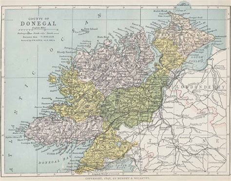 map  county donegal