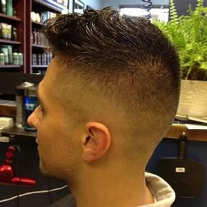 Short Pompadour Haircut Photo © David Alexander on