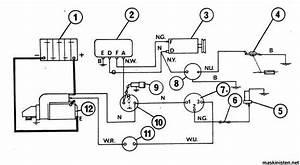 Generator Problem Mf 135  U2022 Maskinisten