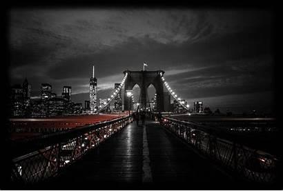 Dark Bridge Wallpapers Desktop York Night Contrast