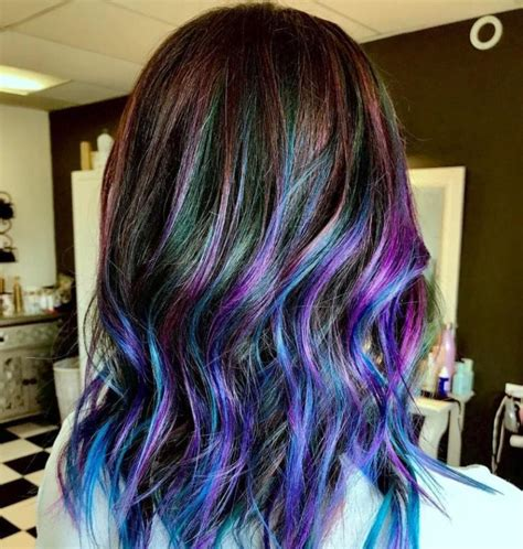 Best Galaxy Hair Ideas And How To Get The Galaxy Hair Color