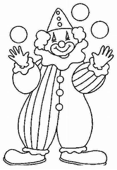 Clown Coloring Worksheets Did Know