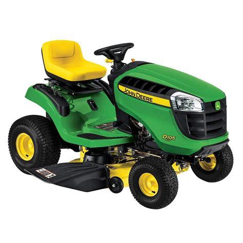 john deere     hp gas automatic lawn tractor