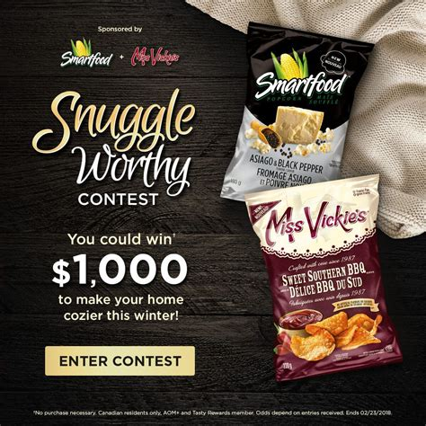 We offer prepaid visa gift cards in a variety of patterns and designs. Snuggle Worthy Snacks Contest in 2019   Canadian contests, Giveaway, Tasty