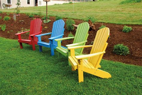 amish pine adirondack chair