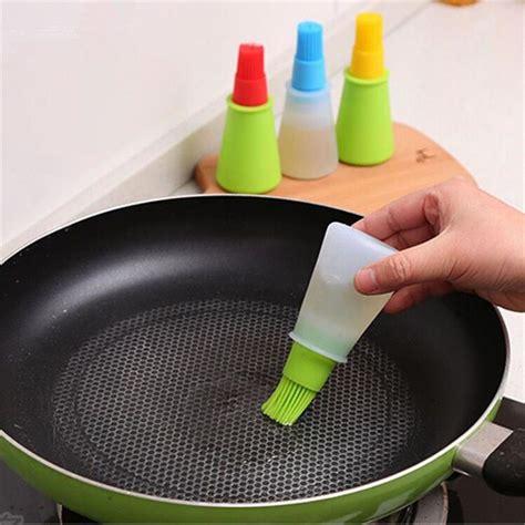 gadget de cuisine ustencile de cuisine pinceaux huile pipette plastique bouteille sauce barbecue barbecue