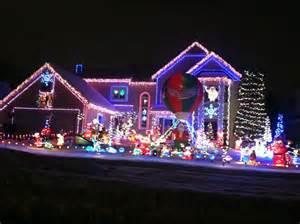 holiday christmas light displays