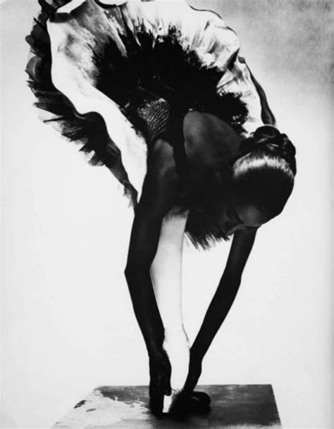 Black and White Ballerina - Photography by Nick Knight