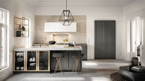 3 Home Interiors With Modern Elegance by Siematic Kitchen Interior Design Of Timeless Elegance