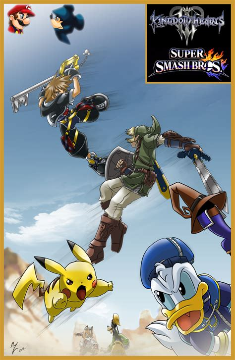 Kingdom Hearts Vs Smash Bros Remix By Vercingetorix Jh On