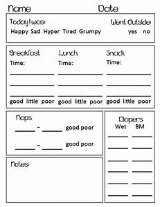 best 25 daycare daily sheets ideas on pinterest infant With daycare information sheet template