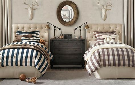 Navy Buffalo Check Curtains by Roses And Rust Bedrooms For Boys