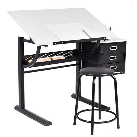 costway drafting table art craft drawing desk art hobby