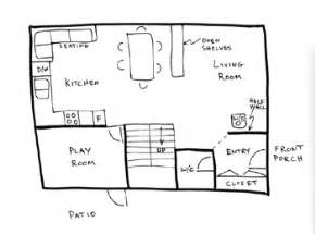 How To Draw A Floor Plan For A House Draw Floor Plans