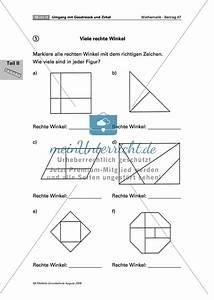 Geometrie Winkel Berechnen : geometrie aufgaben zum zeichnen und erkennen von rechten winkeln ~ Themetempest.com Abrechnung
