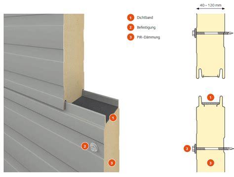 sandwichplatten wand 30 mm sandwichplatten f 252 r dach und wand kaufen heldt bauelemente