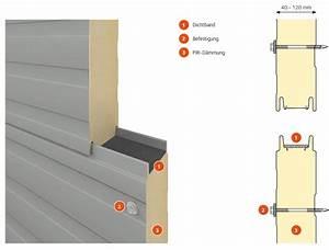 Sandwichplatten Wand 30 Mm : sandwichplatten f r dach und wand kaufen heldt bauelemente ~ Frokenaadalensverden.com Haus und Dekorationen