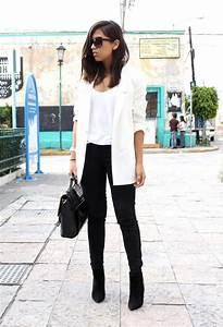 Idée De Tenue : inspiration style id es de tenues avec un blazer blanc ~ Melissatoandfro.com Idées de Décoration