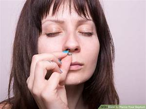 How To Pierce Your Septum  6 Steps  With Pictures
