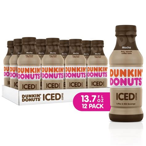 We have sweetened syrup swirls, which we always have caramel, mocha, french vanilla, and hazelnut, as well as seasonal we have regular sugar, liquid cane sugar (which i suggest for the iced coffees as compared to the granulated sugar because the granulated sugar will. (12 Bottles) Dunkin' Donuts Iced Coffee Drink, Mocha, 13.7 fl oz - Walmart.com - Walmart.com