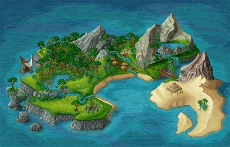Island [gif] By Belamuca On Deviantart