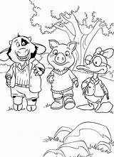 Coloring Pages Razor Scooter Template Da Winks Piggley sketch template
